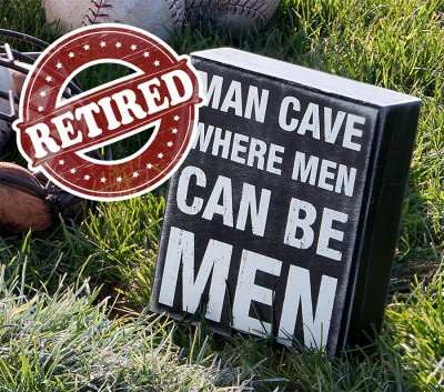 Retired Box Sign. 50% Off